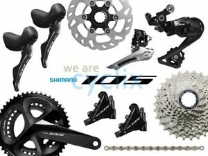 New-2019-Shimano-105-R7000-R7020-Hydraulic-Disc-Brake-Groupset-170-172-5-175mm