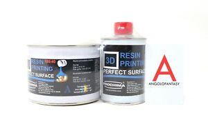 3D Resin Printing Prochima Formulato epossidico bicomp trasparente lucido 650gr