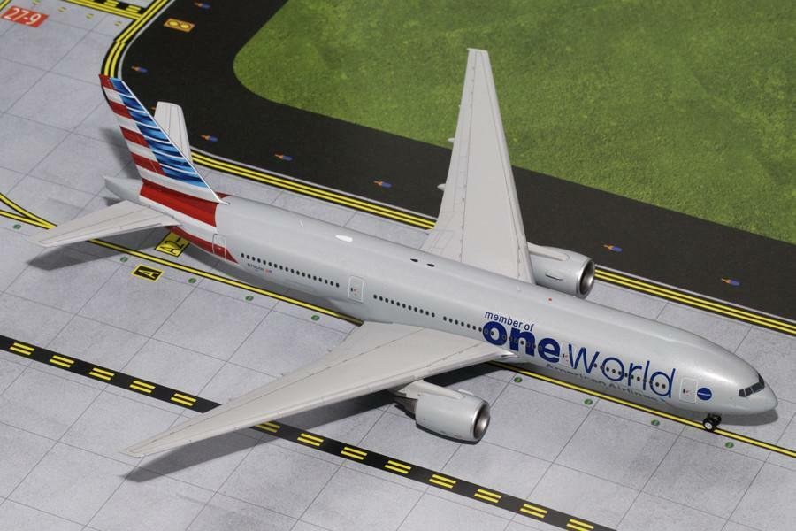 American Airlines Boeing 777-200ER N796AN One World Gemini jets G2AAL526 1 200