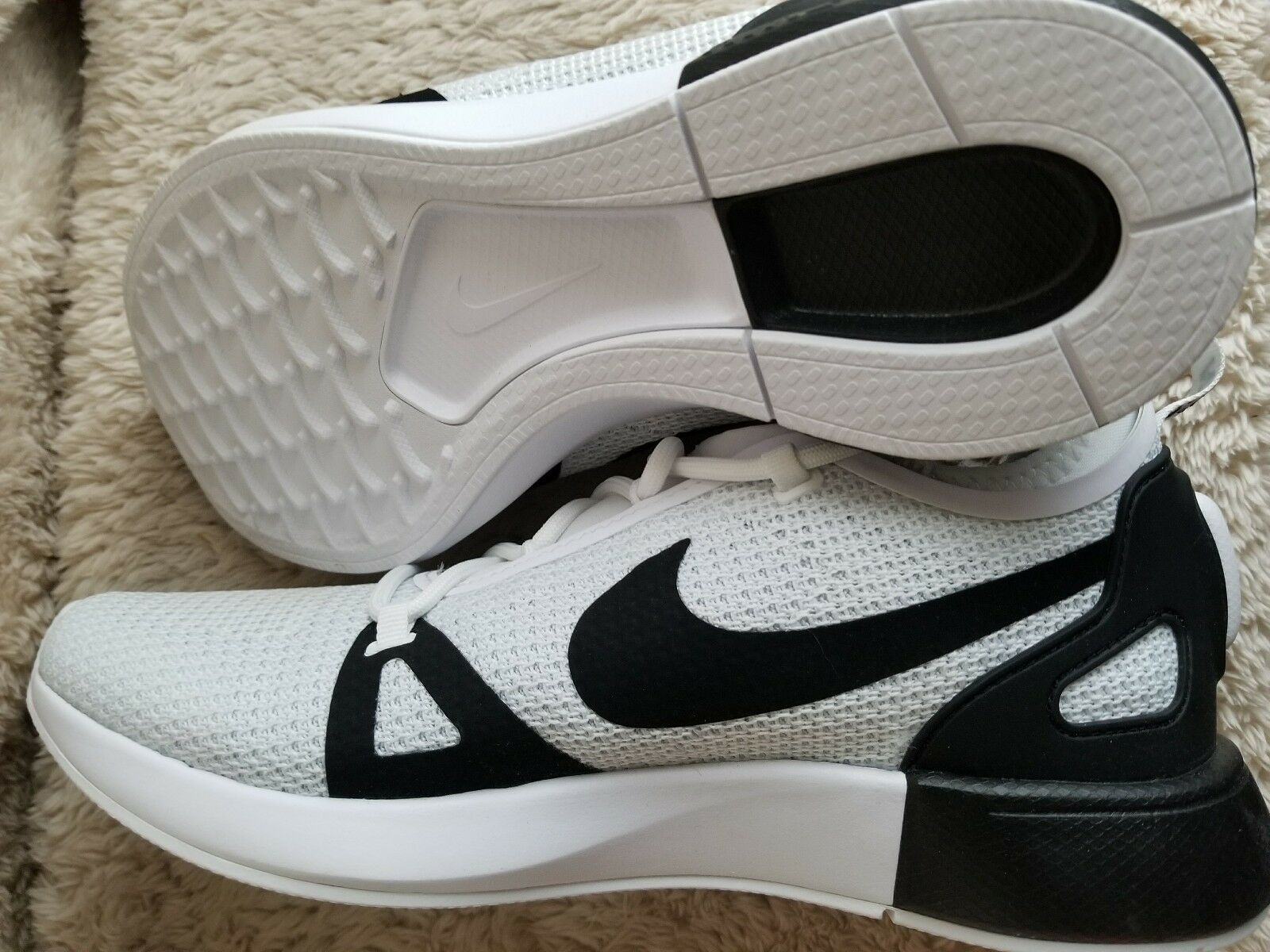 sports shoes aae93 419f9 ... Nike Duel Racer 918228-102 White Black Platinum Men s Sportswear  Sportswear Sportswear Running shoes 47d3ea