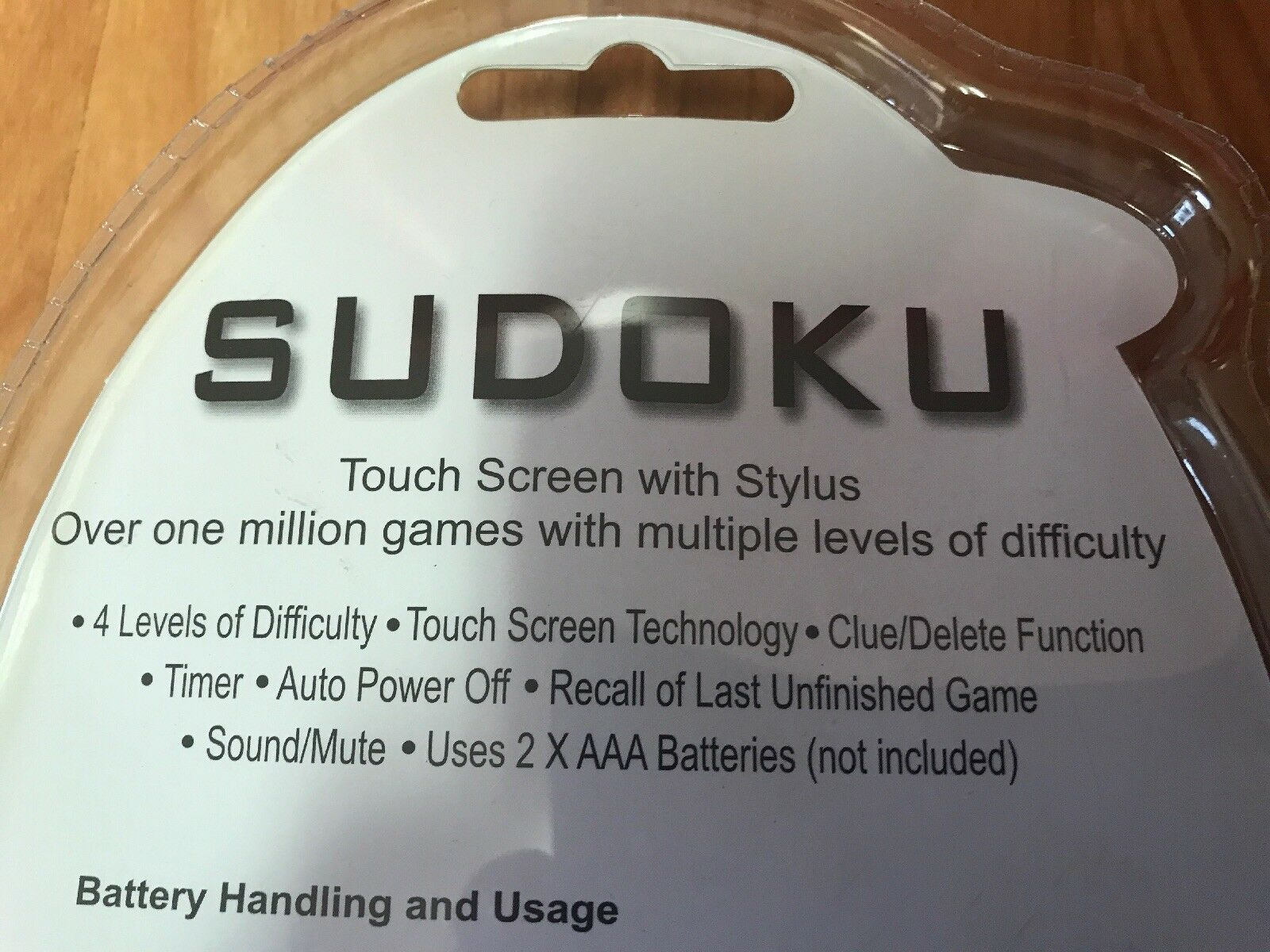 SUDOKU Handheld Touch Screen Stylus Over 1 1 1 Million Games d91110