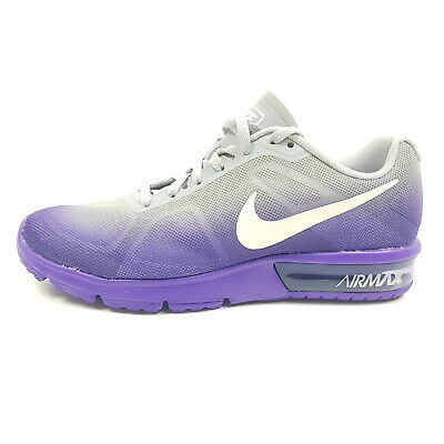 Nike Air Max Sequent Damen EU 38 38,5 (UK 4,5 5) Lila Grau Sneaker Laufschuhe | eBay