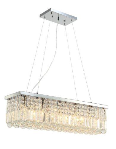 AI Lighting ® Modern Bar Ceiling Pendant Chandelier Raindrops K9 Crystal