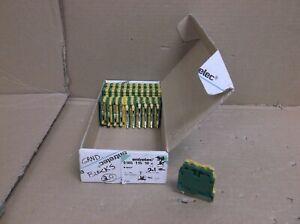M 10//10 ABB Enterlec NEW In Box Screw Clamp Terminal Block 011512017