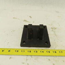 Steel Cylinder Wall Mount Clevis Bracket 5x5 For 34 Pin