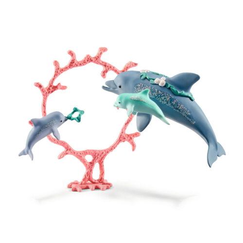 NEW!! Schleich 41463 Bayala Dolphin Mum with Babies