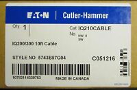 Eaton Cutler Hammer Iq210cable 10' Iq200 Iq300 Meter Cable 10ft 5743b57g04