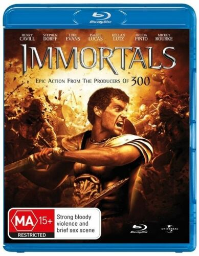 1 of 1 - Immortals (Blu-ray, 2012)*Terrific Condition*