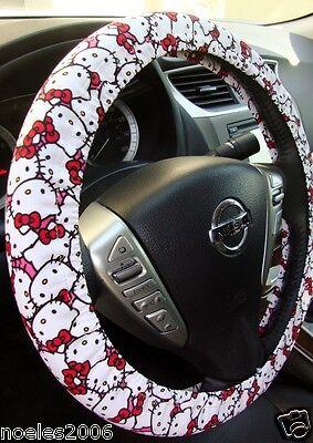 Handmade Steering Wheel Cover Hello Kitty All Over Packed