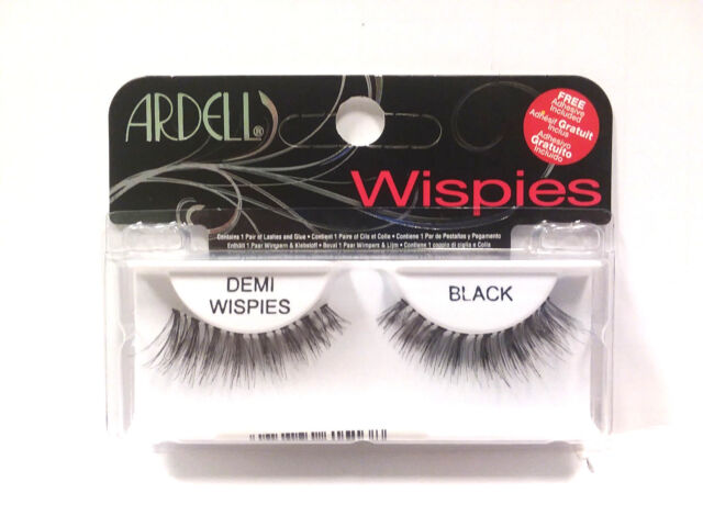 28377b72b9e Ardell Natural Lashes False Fake Eyelashes Demi Wispies Black for ...