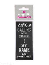 Brainbox Candy Funny Magnetic Bookmark small gift present birthday joke stephen