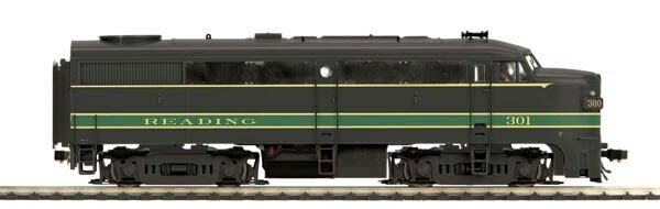 MTH Trains 80-2096-0 Reading Alco FA-1 A Unit Engine DCC Ready HO Scale