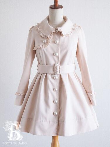 🌹Ank Rouge🌹Cute Trench Coat Beige Romantic Lolit