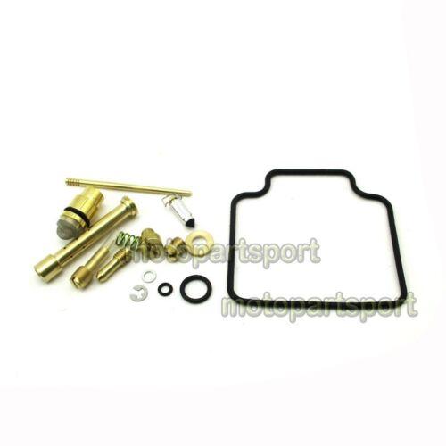 Carburetor Repair Rebuild Kit For Suzuki Quadrunner 500 LT-F500F 1998 1999-2002