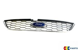 Nuevo-Genuino-Ford-Mondeo-07-10-Parachoques-Delantero-Centro-Superior-Gris-Grille-1451951