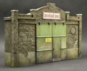 DioDump-DD049-Industrial-facade-PLASTER-VERSION-1-35-scale-diorama-factory