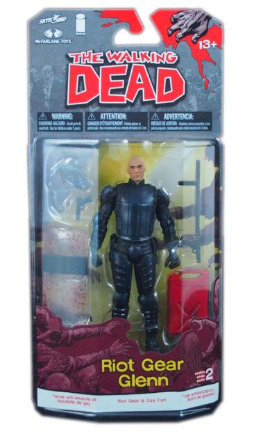 McFarlane toys, The Walking Dead Comic Series 2 Action Figure, Riot Gear Glenn,