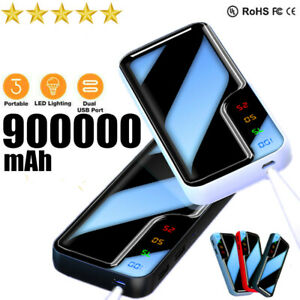 900000mAh-Power-Bank-Portable-Charger-External-Backup-Battery-Dual-USB-with-LED