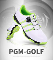 Mens Golf Shoes White Green Boost Wide Choose Size Men's Golf Shoes