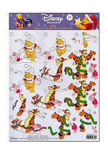 3D Motivbogen Etappenbogen Bastelbogen Grußkarte Winnie the Pooh Tigger (128)