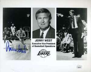 Jerry-West-JSA-Coa-Autograph-Hand-Signed-8x10-Photo
