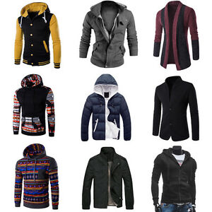 Men-Winter-Coat-Jacket-Outwear-Sweater-Casual-Slim-Hoodie-Warm-Hooded-Sweatshirt