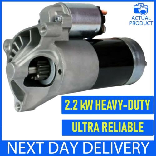 Si adatta a Peugeot 306 307 308 1.9 D//2.0 HDI Diesel 1993-2017 manuale nuovo motore di avviamento