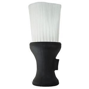 White-Black-Plastic-Hair-Salon-Neck-Duster-Refillable-Powder-Brush-AD