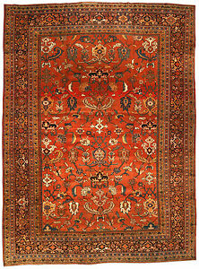 Image Is Loading Antique Persian Sultanabad Rug Bb3198