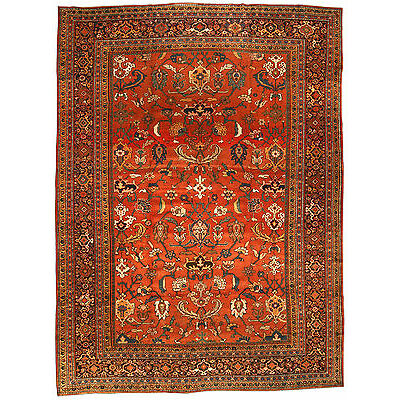 Antique Persian Sultanabad Rug BB3198