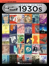Songs of the 1930s The New Decade Series Sheet Music E-Z Play Today 000159569