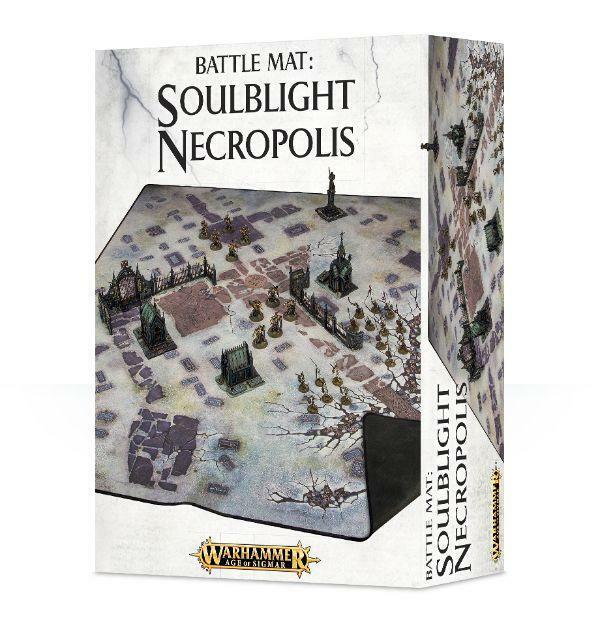 Soulblight Necropolis battle mat BNIB
