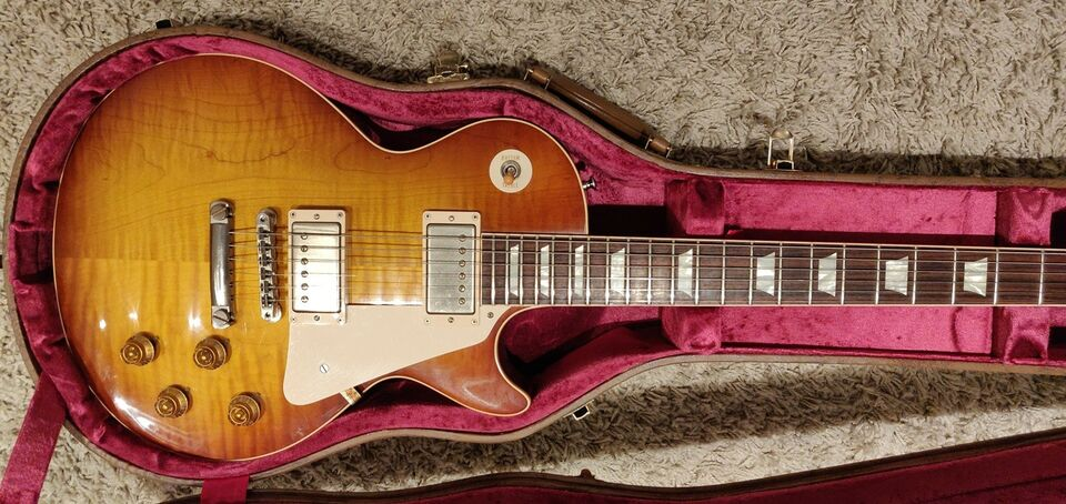 Elguitar, Gibson Les Paul customshop 1958 reissue (R8)