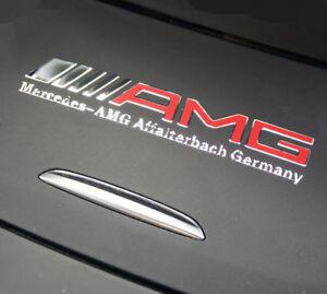 AMG Edition  Chrom für Mercedes Aufkleber logo alu AMG sticker