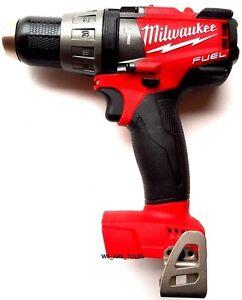 New-Milwaukee-FUEL-2704-20-18V-1-2-034-Cordless-Brushless-Hammer-Drill-M18