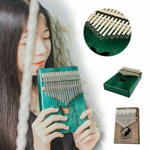 Kalimba-Pouce-Piano-17-Cles-amp-Accessoire-Portable-Instrument-de-Musique-en-acajou