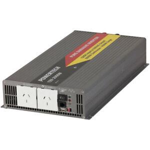 Responsible 2000 Watt 12vdc To 230vac Pure Sine Wave Inverter Mi5710 Suitable For Men Women And Children