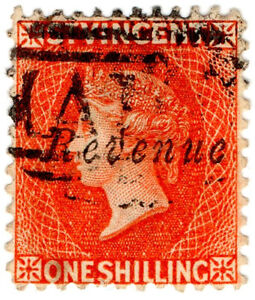 I-B-St-Vincent-Revenue-Duty-Stamp-1-1883