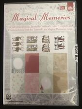 My Craft Studio Charisma MAGICAL MEMORIES USB Tattered Lace Artwork //Backgrounds