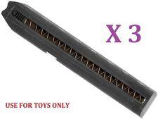 CYMA C26 Toys 27rd Metal Mag X 3PCS for Marui 18C / CYMA CM030 CM123 Airsoft AEP
