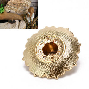 9-trous-de-Lotus-encens-porte-bruleur-fleur-statue-encensoir-plaque-pour-batonsB