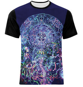 Details about NEW COTTON MAYAN CALENDAR ANCIENT PROPHECY PREDICTIONS  T-SHIRT! ALL SIZES