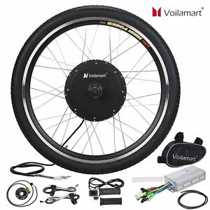 48v front wheel electric bicycle motor conversion kit. Black Bedroom Furniture Sets. Home Design Ideas