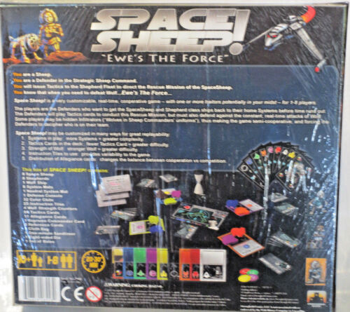 incl SPACE SHEEP EWE/'s the Force-Stronghold Games OVP spedizione in D