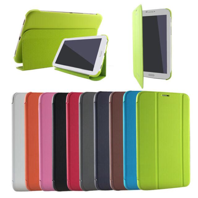 For SAMSUNG Galaxy Tab4 8.0 SM-T331 T330 Case Cover Auto Wake Sleep