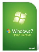 Microsoft MS Windows 7 Home Premium 32 Bit DVD + Lizenzkey Deutsch Multilingual