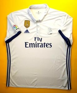 4.9 5 Real Madrid jersey 2XL 2016 2017 home shirt S94992 Adidas ... ede5100c3