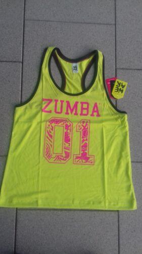 Zumba Green Gr.L NEU!!! ZUMBA® Top/Shirt Team ZumbaTank