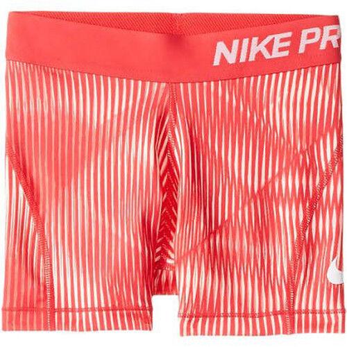 NIKE Girls Dri Fit /'/' NIKE PRO/'/' Logo COMPRESSION Shorts Training shorts YOUTH