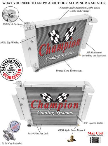 1971 1972 1973 International 1010 3 Row Champion RR Radiator